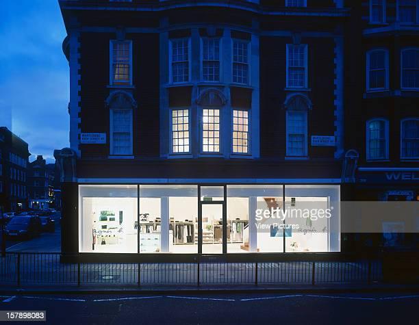 Agnes B London United Kingdom Architect Stiff And Trevillion Architects Agnes B Agnes B Marylebone High Street Stiff And Trevillion June 1999...
