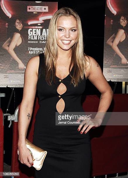 Agnes Bruckner during 11th Annual Gen Art Film Festival 'Dreamland' Premiere Outside Arrivals at Ziegfeld Theater in New York City New York United...