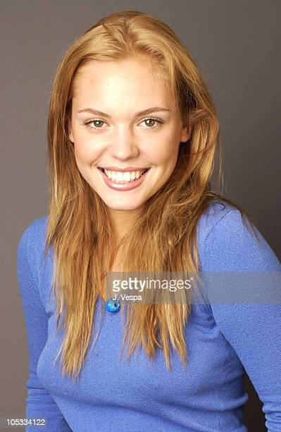 Agnes Bruckner during 2002 Toronto Film Festival 'Blue Car' Portraits at Intercontinental Hotel in Toronto Ontario Canada