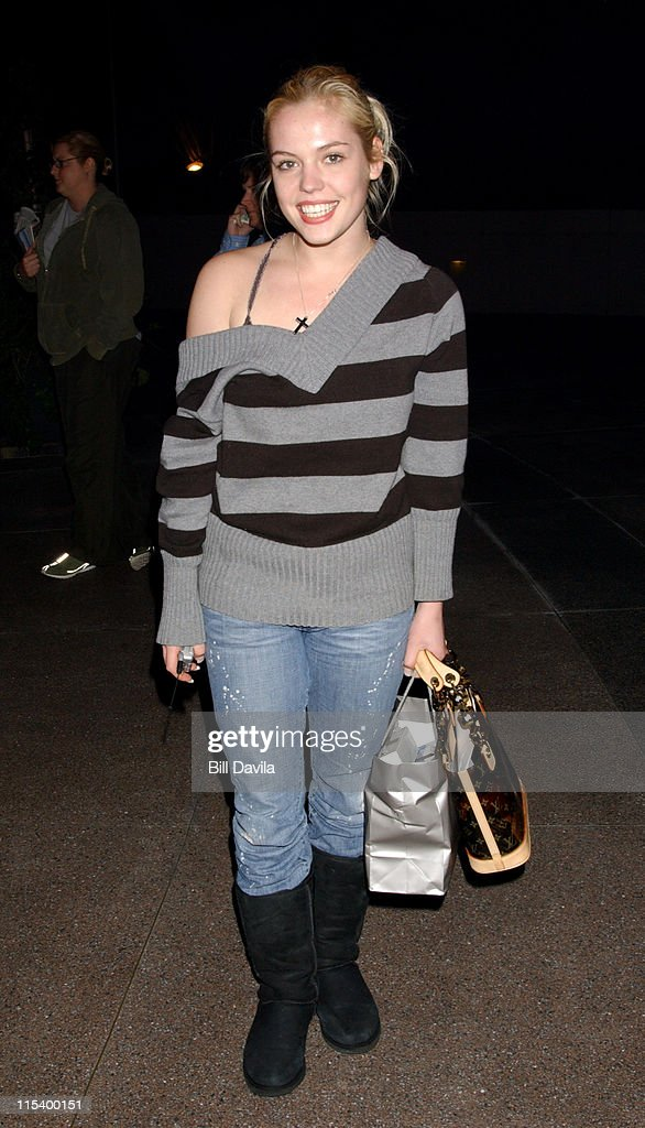 Agnes Bruckner during 2004 Miramax Awards - Pre-Oscar Party at St. Regis Hotel in Century City, California, United States.