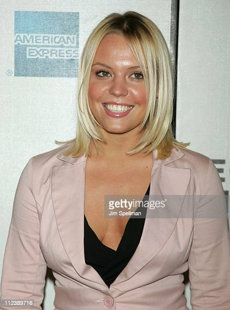 Agnes Bruckner during 3rd Annual Tribeca Film Festival 'Stateside' Screening at Pace University in New York City New York United States