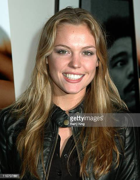 Agnes Bruckner during 'Blood Chocolate' Los Angeles Industry Screening January 25 2007 at ArcLight Cinemas in Hollywood CA United States
