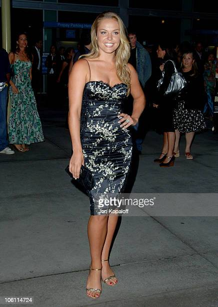 Agnes Bruckner during 'Haven' Los Angeles Premiere Arrivals at ArcLight Theatre in Hollywood California United States