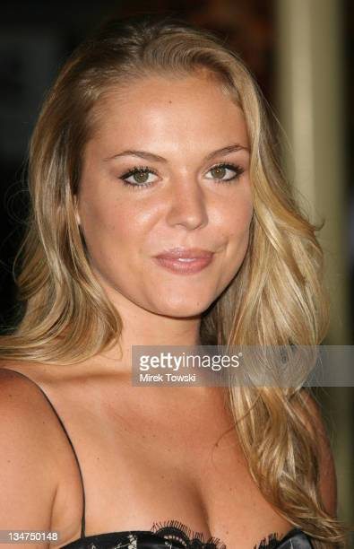Agnes Bruckner during 'Haven' Los Angeles Premiere Arrivals at Arclight Cinema in Hollywood California United States