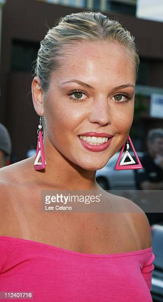 Agnes Bruckner during 'Stateside' Los Angeles Premiere Red Carpet at Westwood Crest Theatre in Westwood California United States