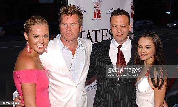 Agnes Bruckner Val Kilmer Reverge Anselmo writer/director and Rachael Leigh Cook