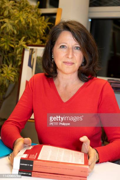 Agnes Buzyn the french Health Minister is photographed for Paris Match at her Ministry in Paris on January 16 2019