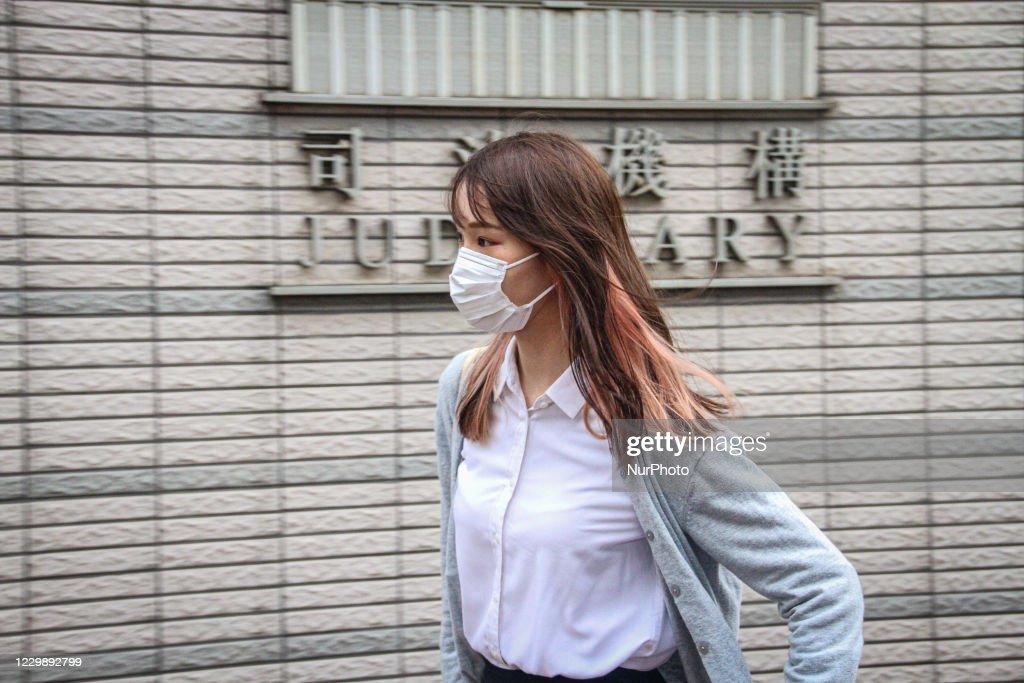 Hong Kong Activists Sentenced : News Photo