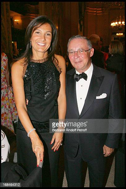 Agnes Cromback and Count Philippe of Nicolai at Gala Of The Association For The Influence Of The National Paris Opera At Palais Garnier