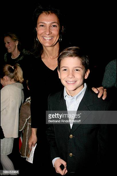 Agnes Cromback and Max at L' Arop Gala Evening Reve D' Enfants With Featuring Casse Noisette At L' Opera Bastille