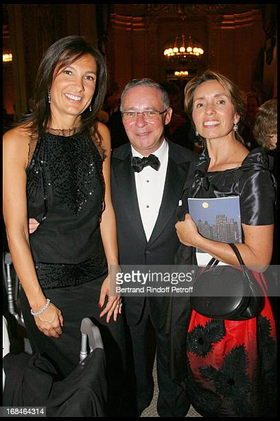 Agnes Cromback Count Philippe of Nicolai and Regina Annenberg Weingarten at Gala Of The Association For The Influence Of The National Paris Opera At...