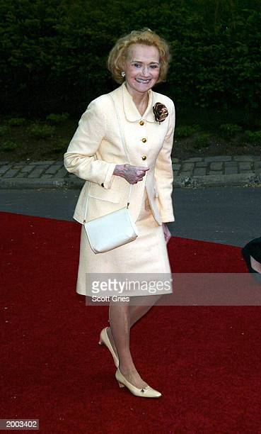 Agnes Dixon arrives at a party hosted by mayor Michael Bloomberg to celebrate the 30th Annual Daytime Emmy Awrds May 15 2003 at Gracie Mansion in New...