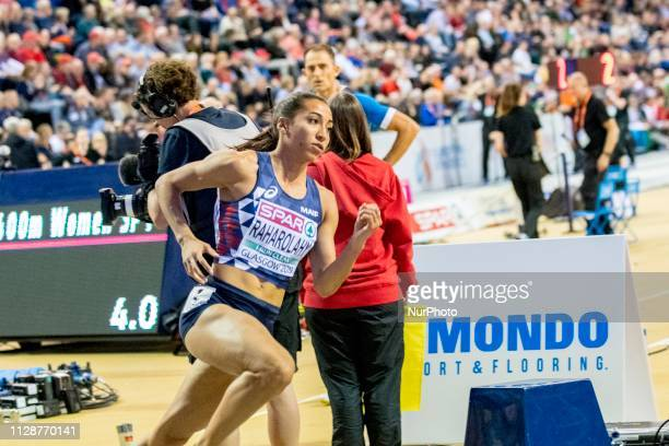 Agnes FRA competing in the 400m Women event during day ONE of the European Athletics Indoor Championships 2019 at Emirates Arena in Glasgow Scotland...