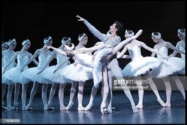 Agnes Letestu Jose Martinez at The Reve D'Enfants Matinee Performance Of Swan Lake At The Opera Bastille Featuring Rudolf Noureev