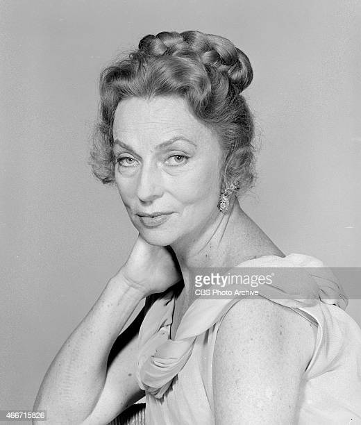 Agnes Moorehead as Adrice Campbell in the Comedy Spot movie Poor Mr Campbell Image date May 1 1962