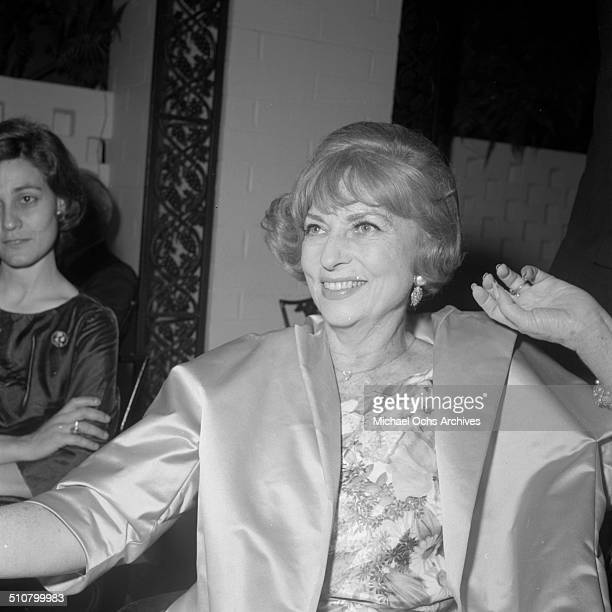 Agnes Moorehead attends an event in Los AngelesCA