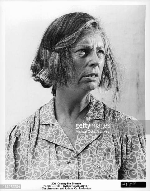 Agnes Moorehead in a scene from the film 'HushHush Sweet Charlotte' 1964