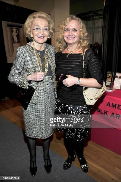 Agnes Nixon and Emily Nixon attend THE AMERICAN ANTIQUES SHOW BENEFIT PREVIEW Celebrates TEXAS Sponsored by The Magazine ANTIQUES at Metropolitan...