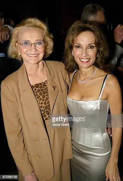 Agnes Nixon and Susan Lucci