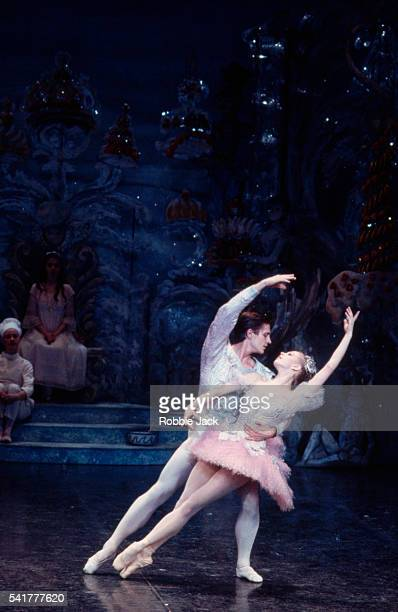 Agnes Oaks and Thomas Edur in the English National Ballet production of Tchaikovsky's The Nutcracker