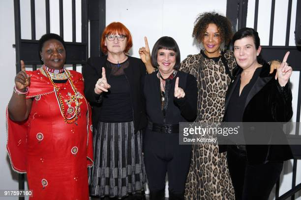 Agnes Pareyio Rada Boric Eve Ensler Christine Schuler Deschryver and Susan Celia Swan speaks during V20 My Revolution Lives In This Body activist...