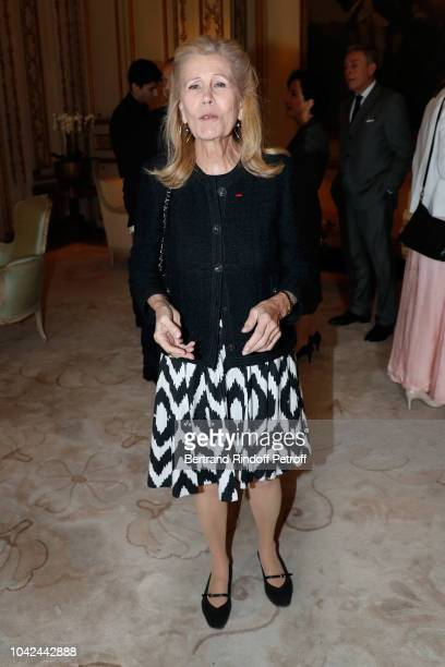 Agnes Schweitzer attends the Ambassador of the United States of America to France and Monaco Ms Jamie D McCourt hosts the 'American Friends of the...