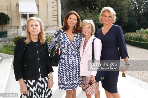 Agnes Schweitzer Ms MarieLaure Mine cofounder of The Eloise Susanna Gale Foundation Flavia Gale and Chairman of the American Friends of the Paris...