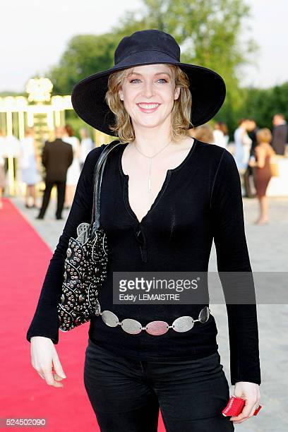 Agnes Soral attends the 21st 'Fete du Cinema' at Versailles Palace