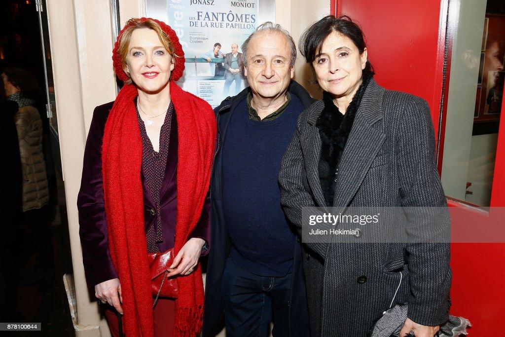 """Les Fantomes De La Rue"" : Theather Play At Theatre La Bruyere In Paris"