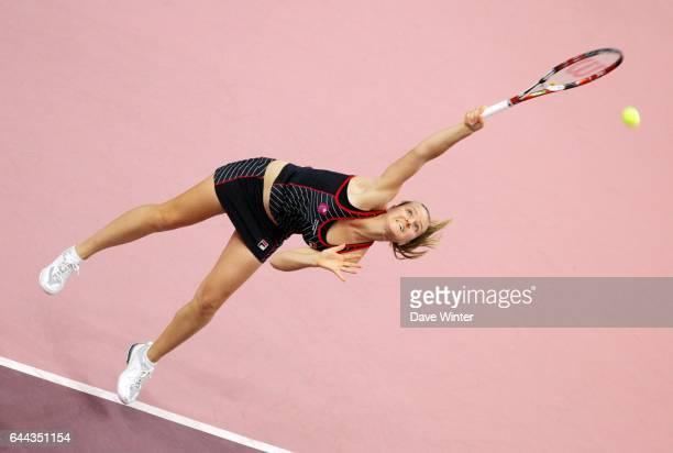 Agnes SZAVAY Finale de l Open Gaz de France 2008 Paris Photo Dave Winter / Icon Sport