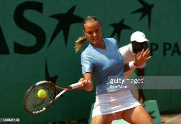Agnes SZAVAY Qualifications Roland Garros 2007 Photo Dave Winter / Icon Sport