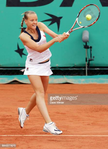 Agnes SZAVAY Roland Garros 2008 Jour 2 Photos Dave Winter / Icon Sport