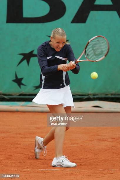 Agnes SZAVAY Roland Garros 2007 Jour 4 Photo Dave Winter / Icon Sport