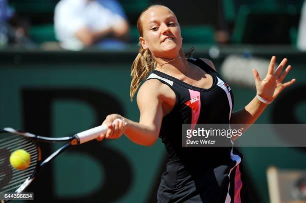 Agnes SZAVAY Roland Garros 2009 Photo Dave Winter / Icon Sport
