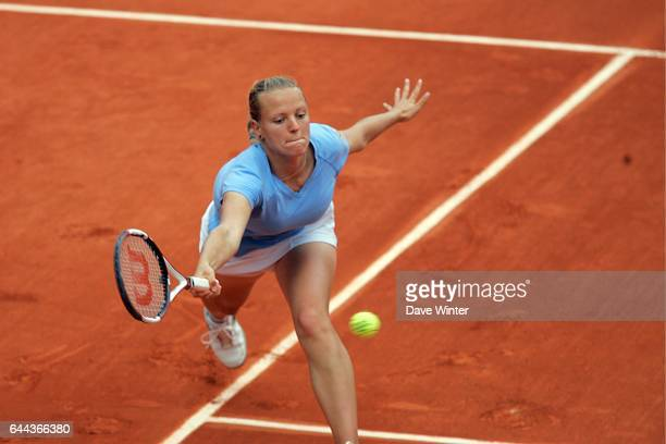 Agnes SZAVAY / Anna CHAKVETADZE Roland Garros 2007 Jour 5 Photo Dave Winter / Icon Sport