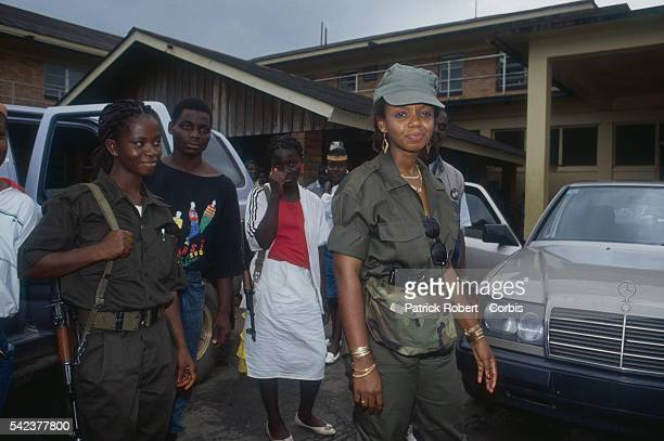 Agnes Taylor is the wife of Charles Taylor leader of the National Patriotic Front of Liberia and is an active supporter of his cause Responding to...