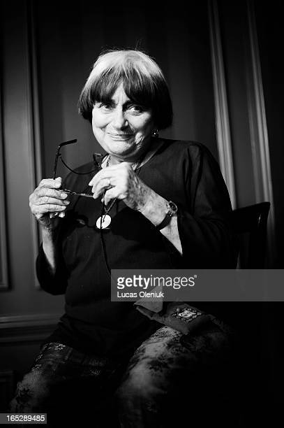 Agnes Varda photographed in Toronto Monday Septmeber 8th 2008 during the Toronto Interational Film Festival