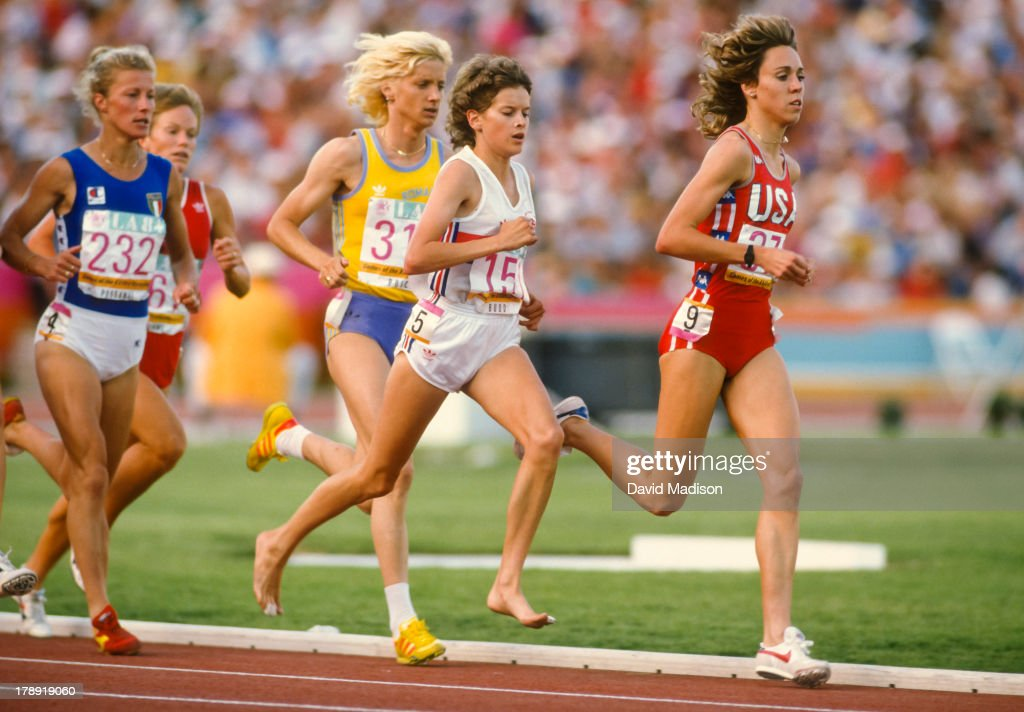 1984 Olympics W3000m : Nachrichtenfoto