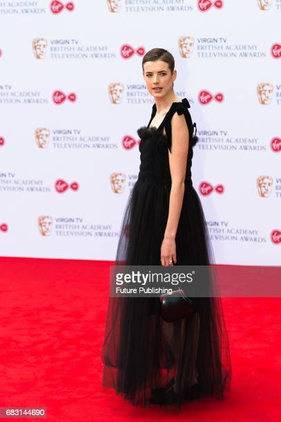 Agness Deyn attends the Virgin TV British Academy Television Awards ceremony at the Royal Festival Hall on May 14 2017 in London United Kingdom...