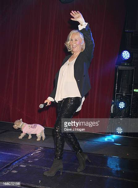 Agnetha Faltskog of ABBA makes a public appearance at GAY on May 4 2013 in London England