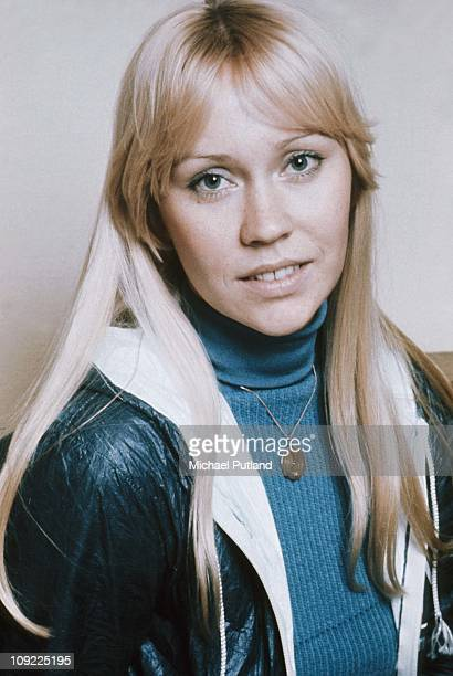 Agnetha Faltskog of ABBA, Stockholm, April 1976.