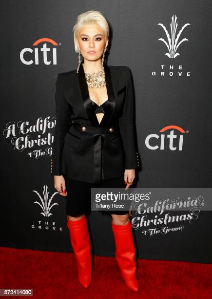 Agnez Mo at A California Christmas at the Grove Presented by Citi on November 12 2017 in Los Angeles California