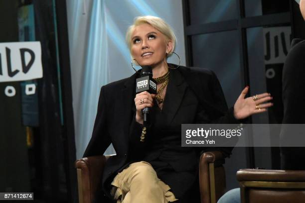 Agnez Mo attends Build series to discuss Damn I Love You at Build Studio on November 7 2017 in New York City