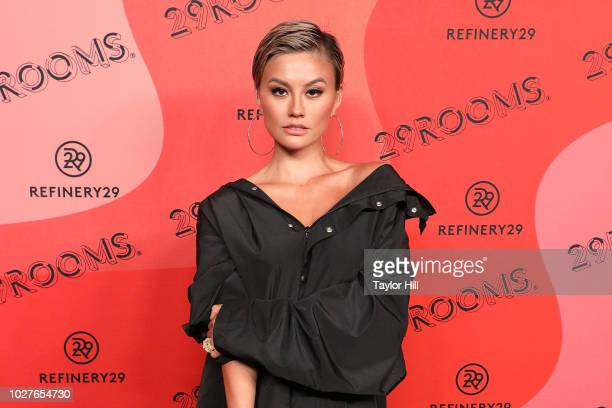 Agnez Mo attends Refinery29's 29Rooms Opening Night on September 5 2018 in Brooklyn New York