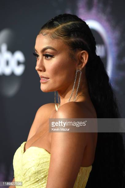 Agnez Mo attends the 2019 American Music Awards at Microsoft Theater on November 24 2019 in Los Angeles California