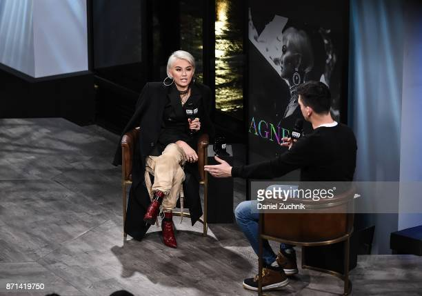Agnez Mo attends the Build Series to discuss her new album 'X' and music video 'Damn I Love You' at Build Studio on November 7 2017 in New York City