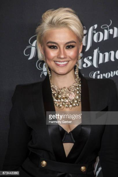 Agnez Mo attends the California Christmas at The Grove on November 12 2017 in Los Angeles California