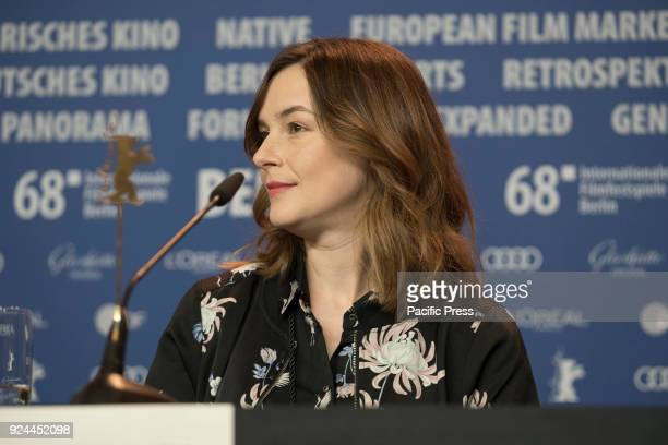 Agnieszka Podsiadlik at the 'Mug' press conference during the 68th Berlinale International Film Festival Berlin at Grand Hyatt Hotel