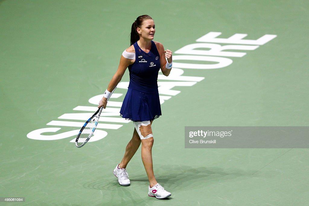 BNP Paribas WTA Finals: Singapore 2015 - Day Seven : News Photo