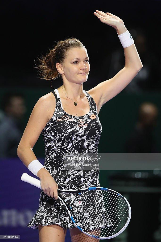 BNP Paribas WTA Finals: Singapore 2016 - Day Four : News Photo